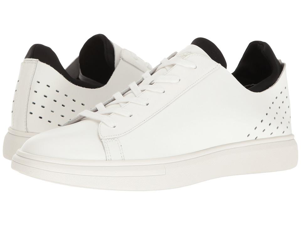 Sam Edelman - Jared (White/Black Action Leather/Lycra) Men's Shoes