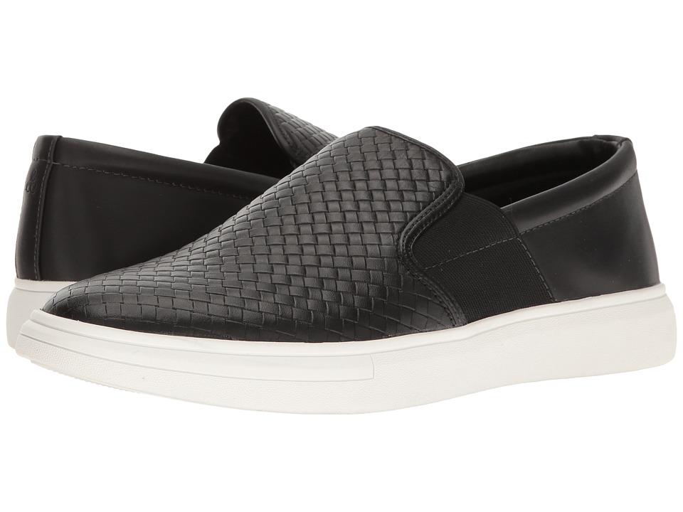 Sam Edelman - Jason (Black Calf Leather/Smooth) Men's Slip on Shoes