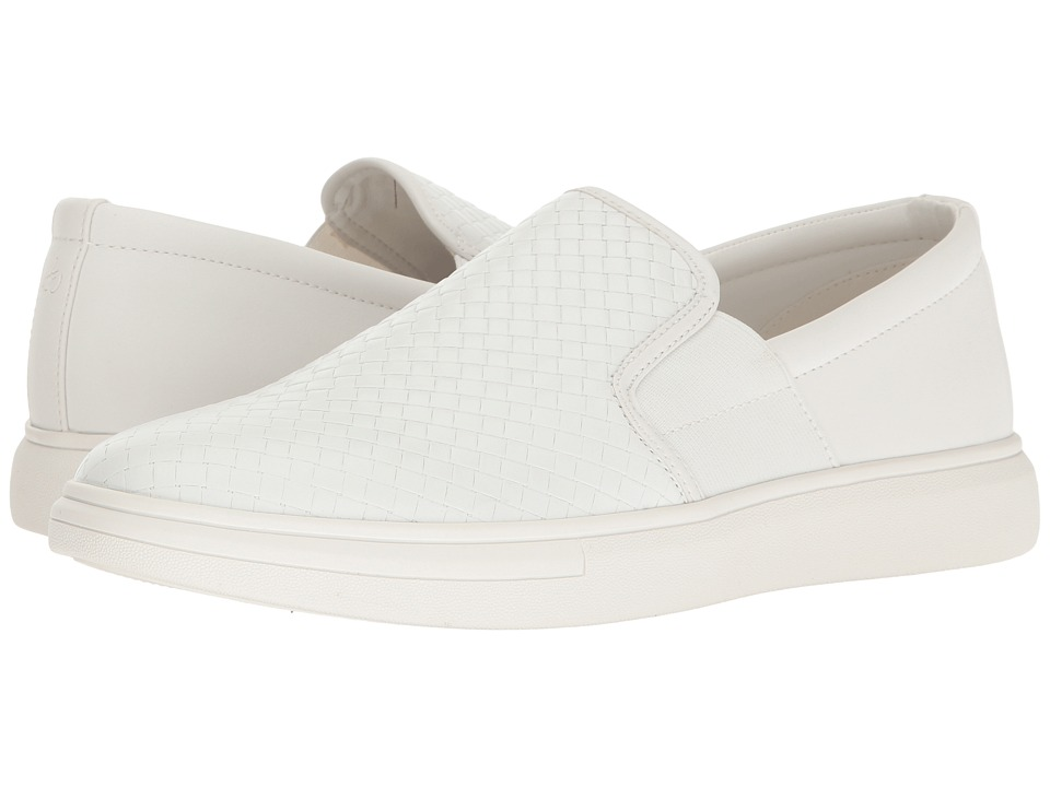 Sam Edelman - Jason (White Calf Leather/Smooth) Men's Slip on Shoes