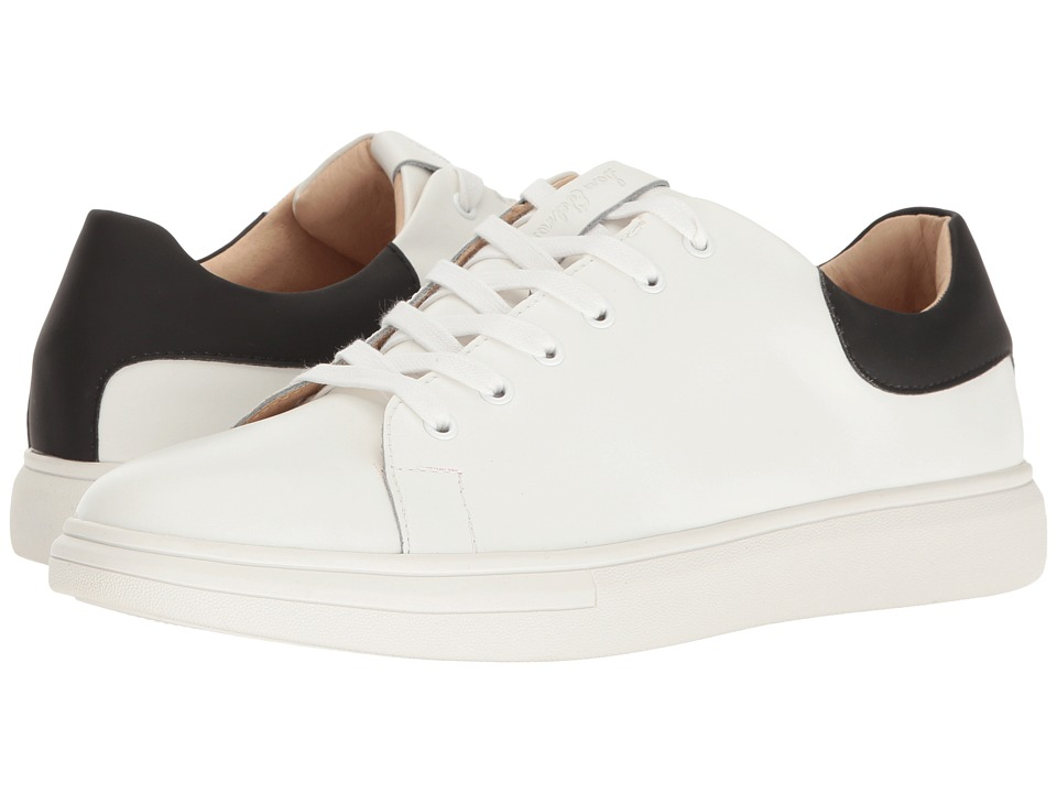 Sam Edelman - Jimmy (White/Black Action Leather Matte) Men's Lace up casual Shoes