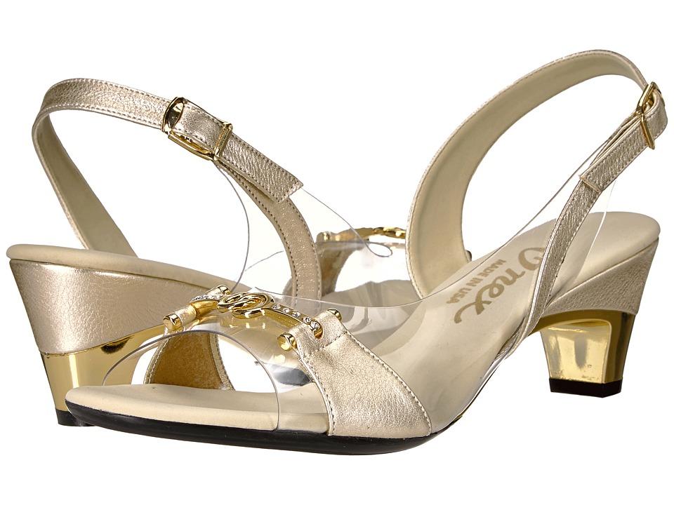 Onex - Sweet (Platinum Leather) Women's 1-2 inch heel Shoes