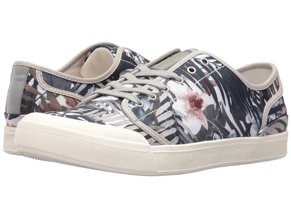 Sam Edelman - Nate (Grey Multi Printed Canvas (Palms)) Men's Lace up casual Shoes