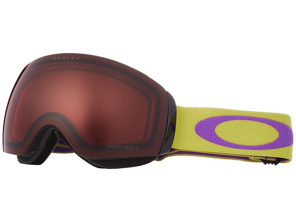 Oakley - Flight Deck XM- Medium (Citrus Purple/Prizm Rose) Goggles