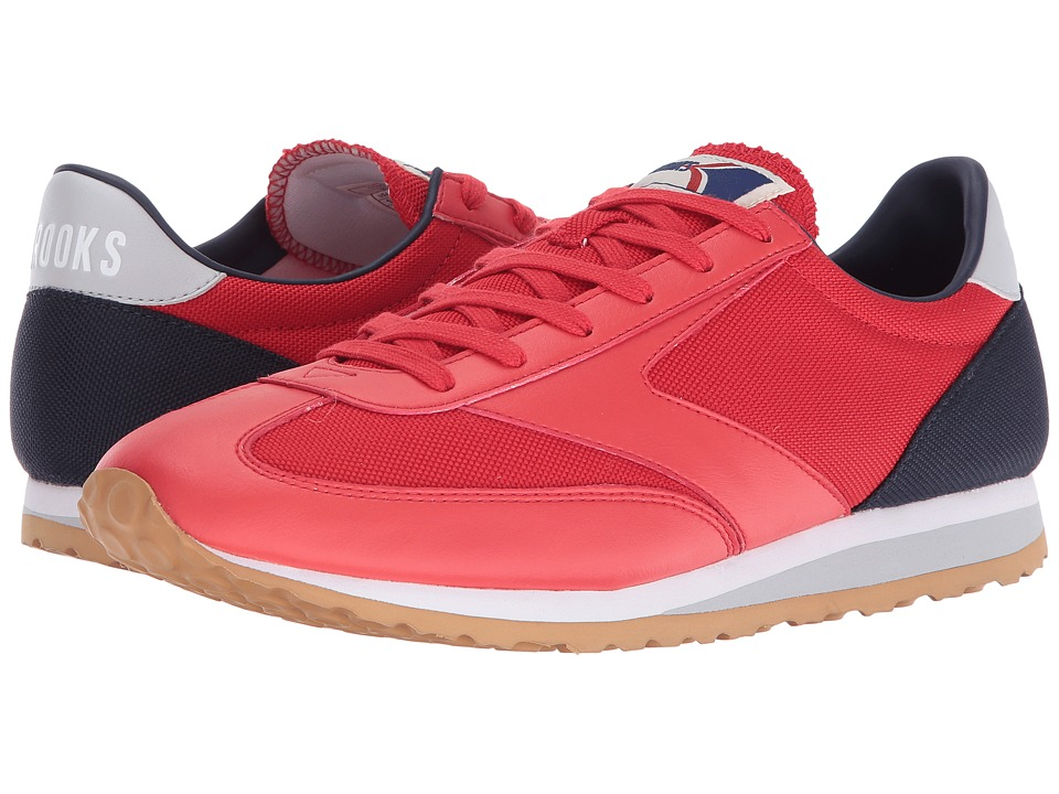 Brooks Heritage - Vanguard (High Risk Red/Peacoat Navy/Microchip/White) Men's Shoes