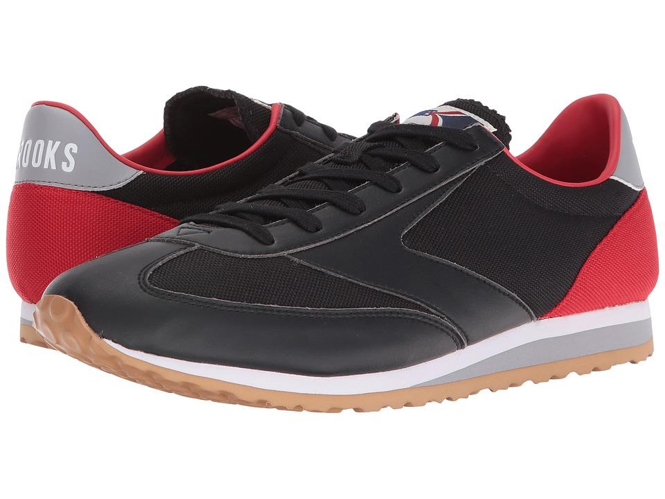 Brooks Heritage - Vanguard (Black/High Risk Red/Sleet/White) Men's Shoes