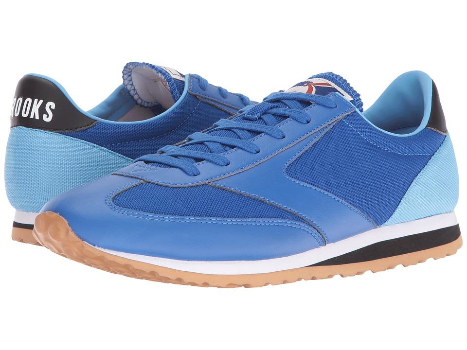 Brooks Heritage - Vanguard (Nautical Blue/Black/Azure Blue/White) Men's Shoes