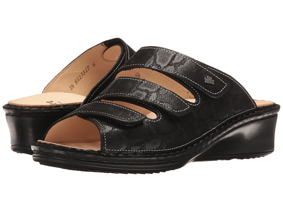 Finn Comfort - Cremona - 2665 (Black) Women's Sandals