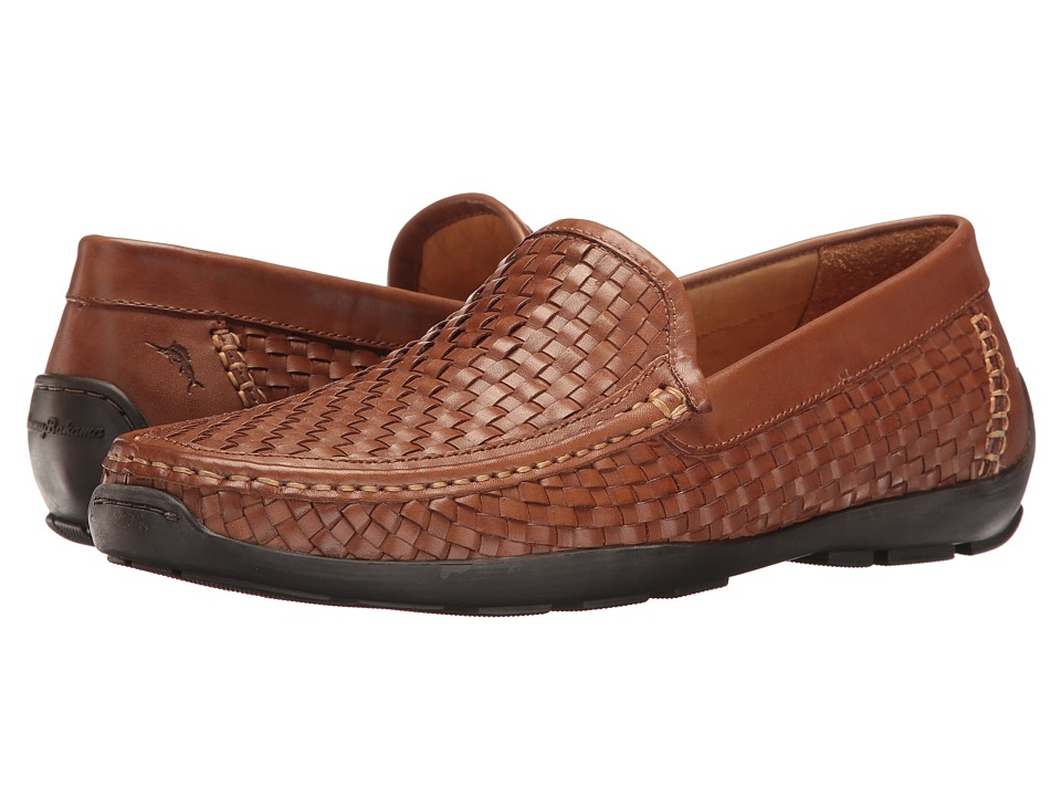 Tommy Bahama - Orson (Dark Tan 2) Men's Slip on Shoes