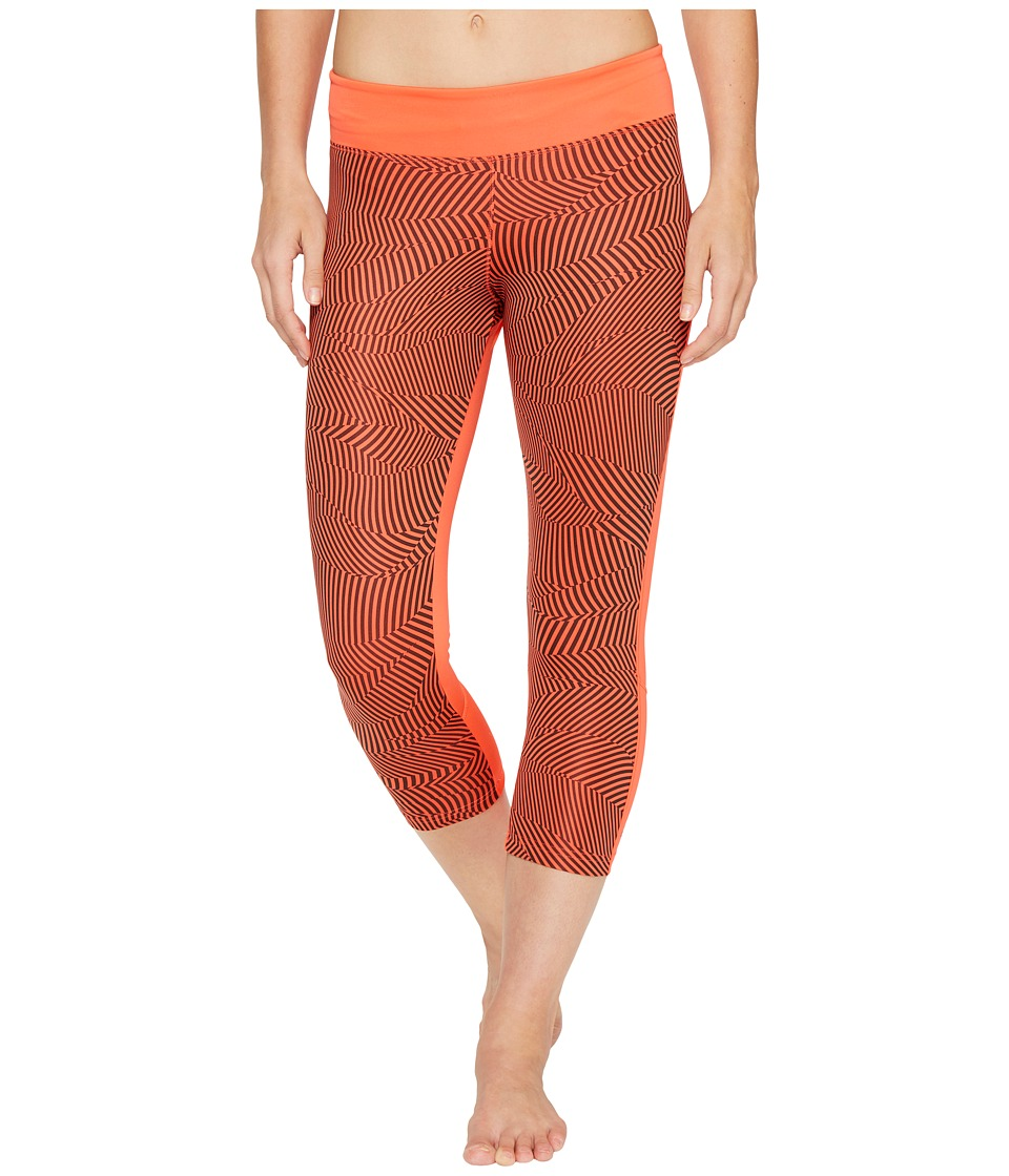 adidas - Energy Print Designed-2-Move 3/4 Tights (Easy Coral Print/Easy Coral) Women's Workout