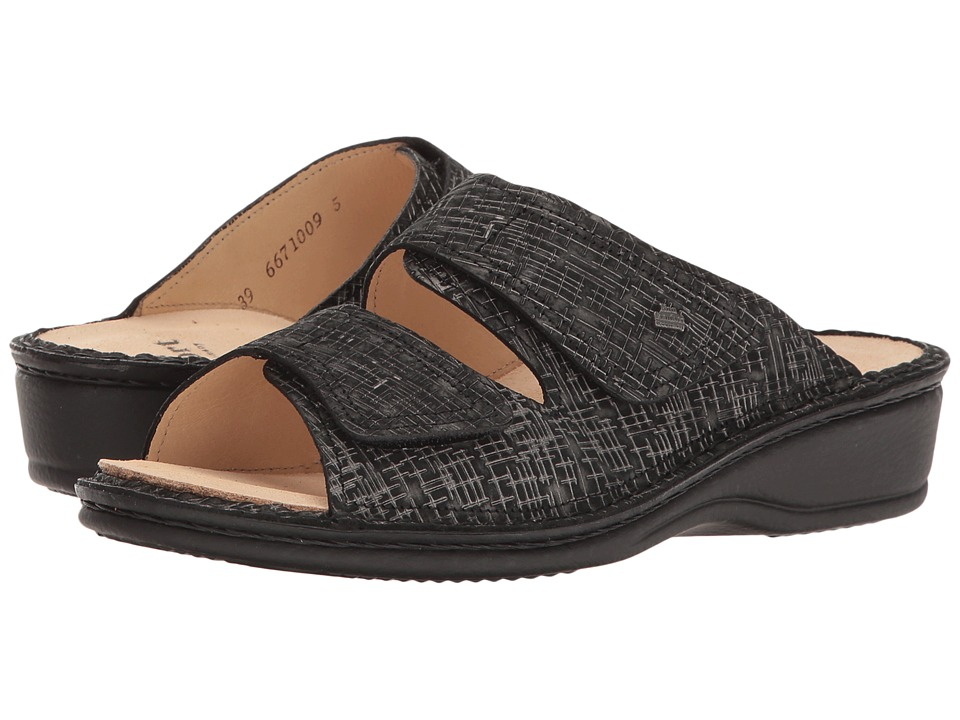 Finn Comfort - Jamaica - 82519 (Nero Cris) Women's Slide Shoes