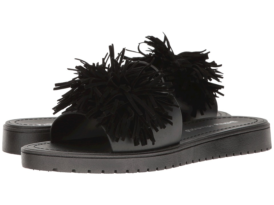 Dirty Laundry - Paseo Jelly Pool Slide (Black) Women's Sandals