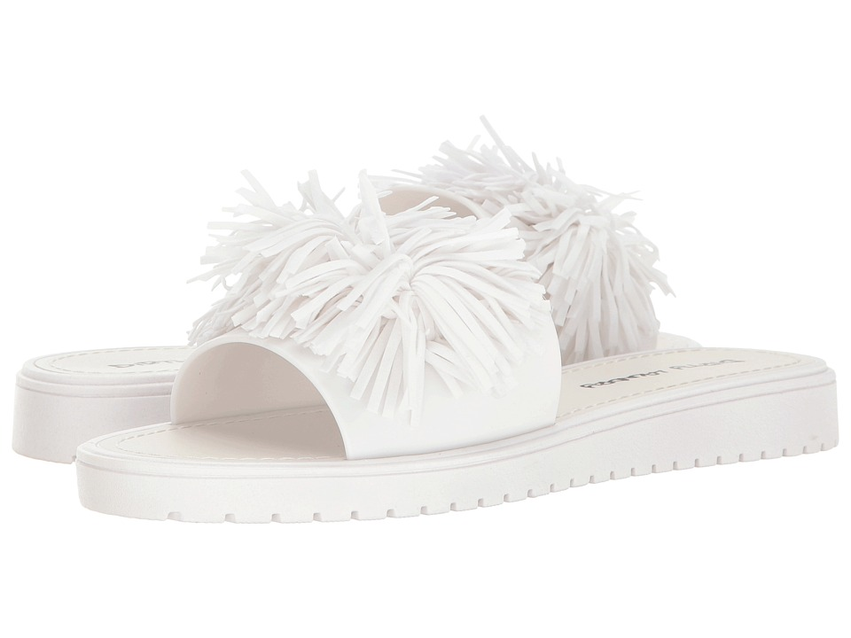 Dirty Laundry - Paseo Jelly Pool Slide (White) Women's Sandals