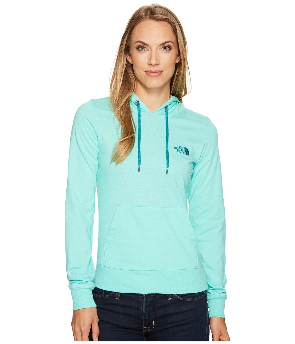 The North Face Lite Weight Pullover Hoodie (Bermuda Green Heather/Harbor Blue (Prior Season)) Women