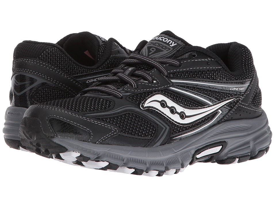 Saucony - Cohesion TR9 Plush (Black/Grey) Women's Shoes