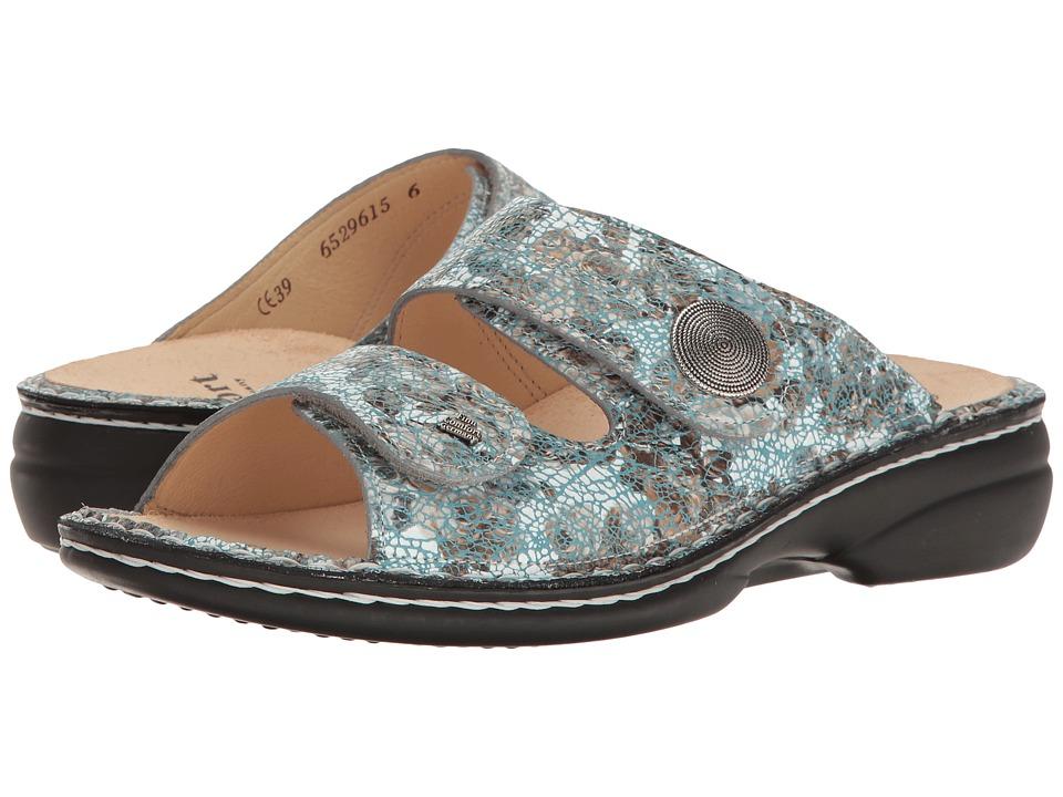 Finn Comfort - Sansibar - 82550 (Aqua) Women's Shoes