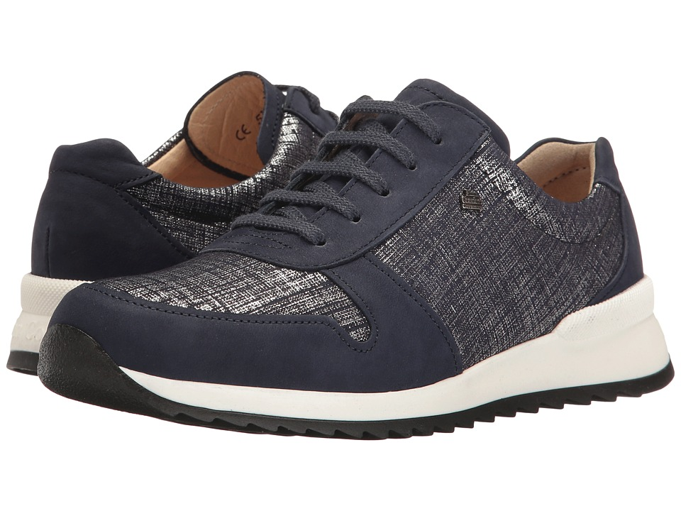 Finn Comfort - Sidonia (Atlantic/Argento) Women's Lace up casual Shoes