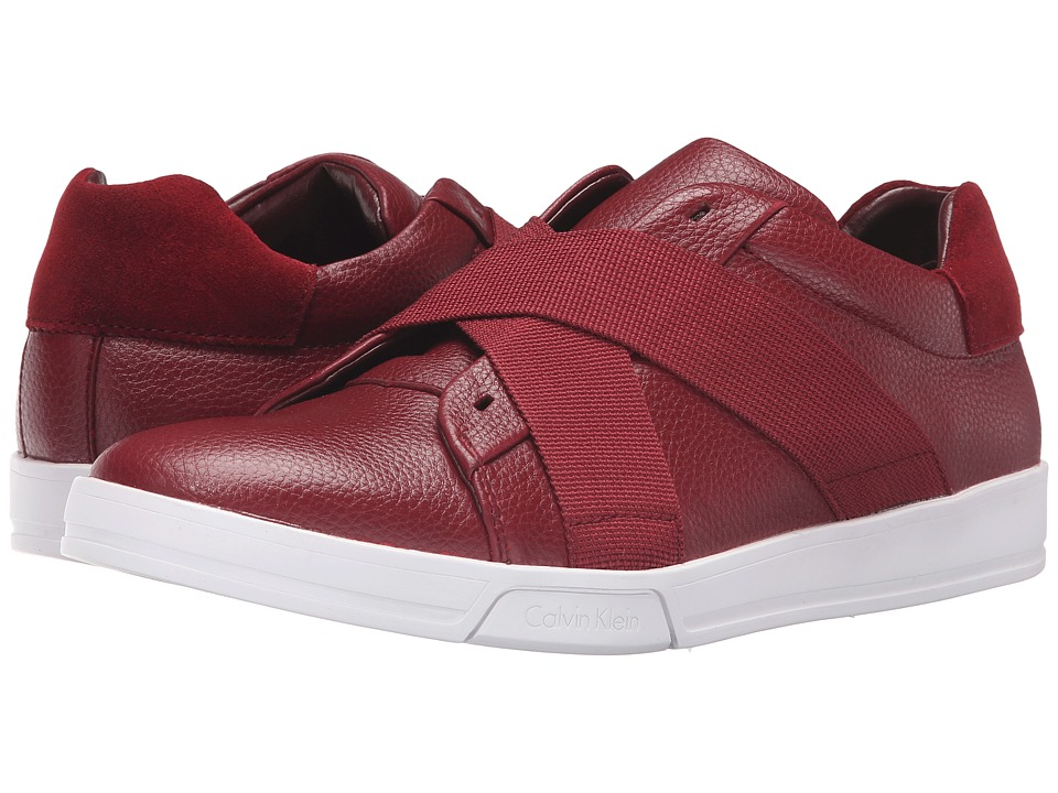 Calvin Klein - Baku (Dark Red) Men's Shoes