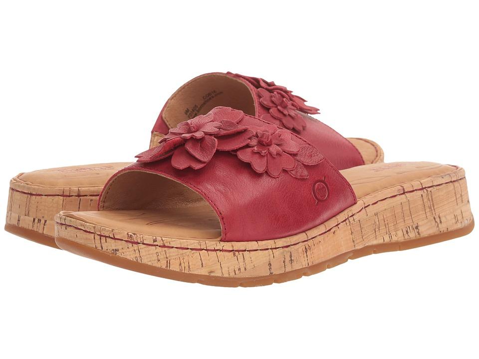 Born - Dottie (Campari Full Grain) Women's Shoes