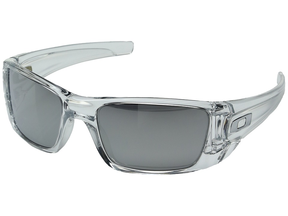 Oakley - Fuel Cell (Polished Clear w/ Chrome Iridium) Sport Sunglasses
