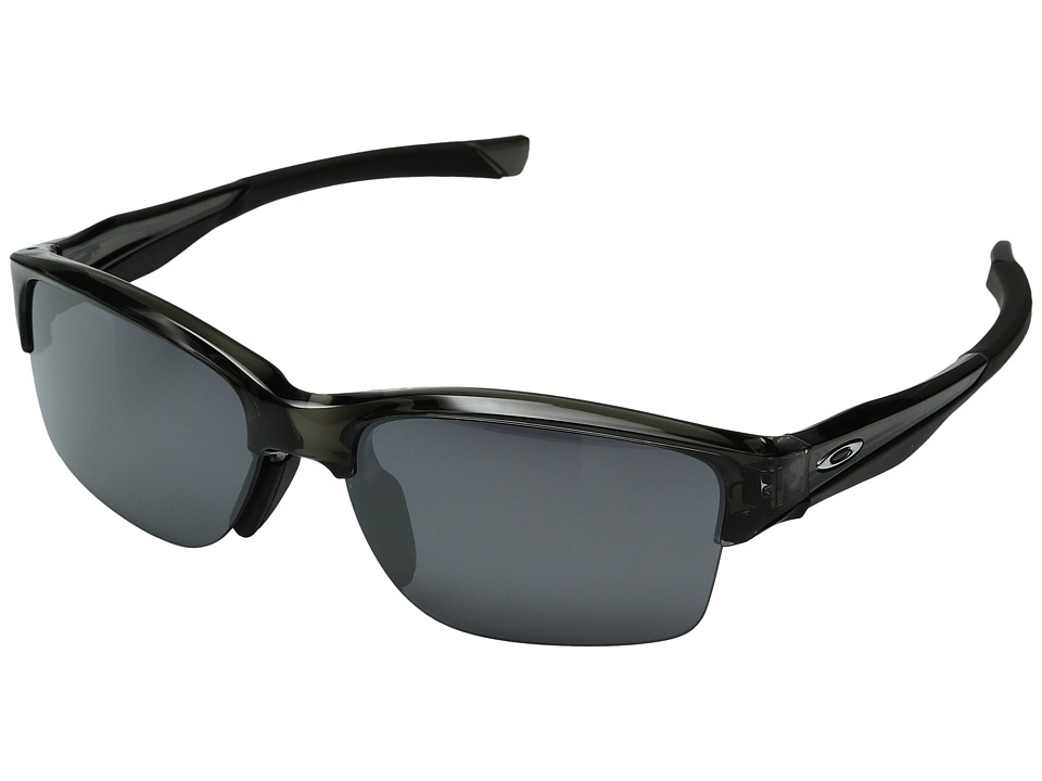 Oakley - (A) Halflink (Grey Smoke W/ Black Iridium) Sport Sunglasses