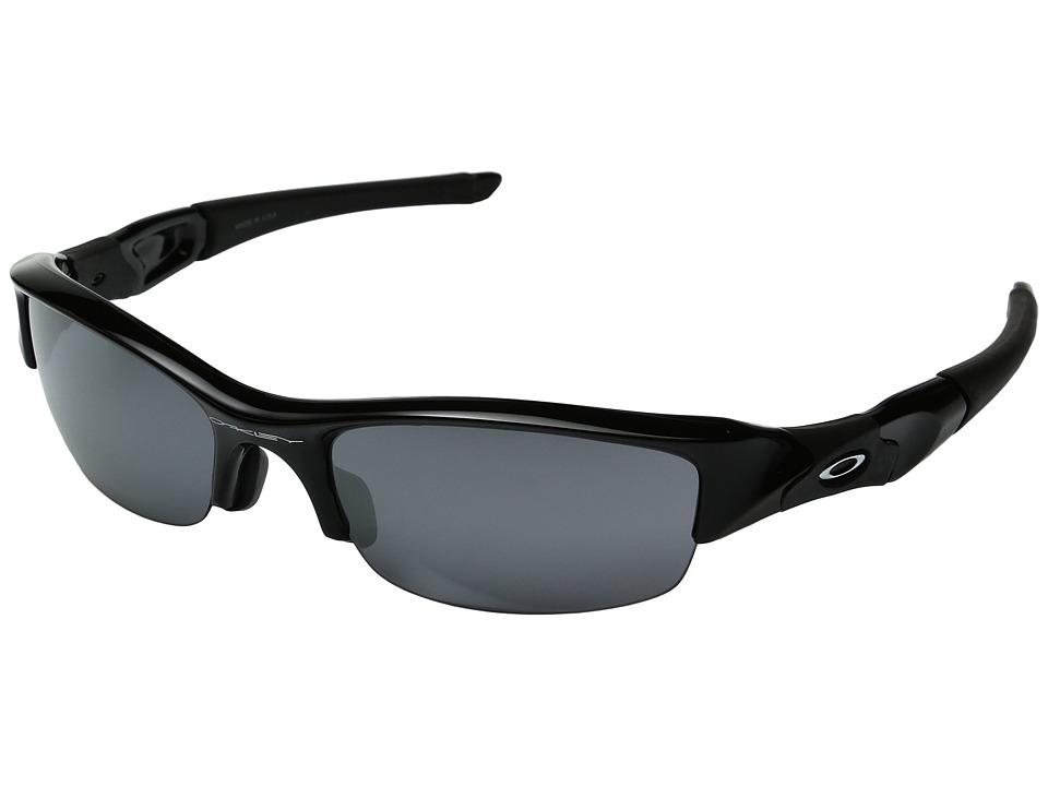 Oakley - (A) Halflink (Matte Black W/ Grey) Sport Sunglasses