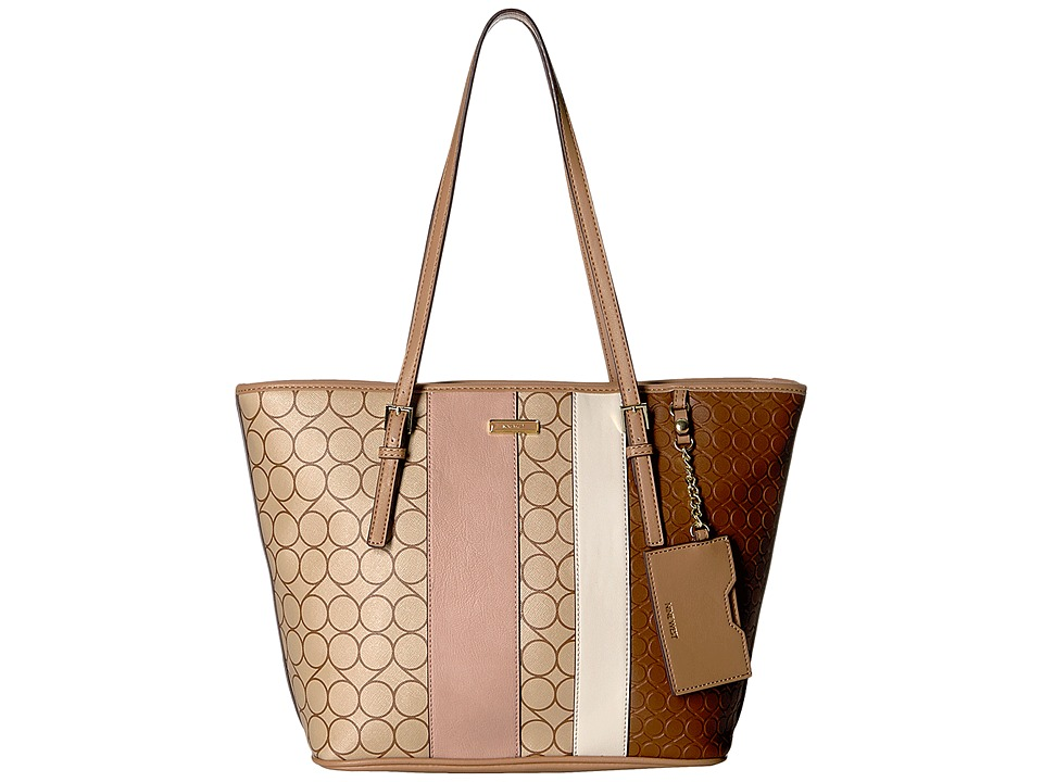 Nine West - Ava Tote (Camel/Brown/Tobacco/New Mauve/Dark Camel/Milk) Tote Handbags