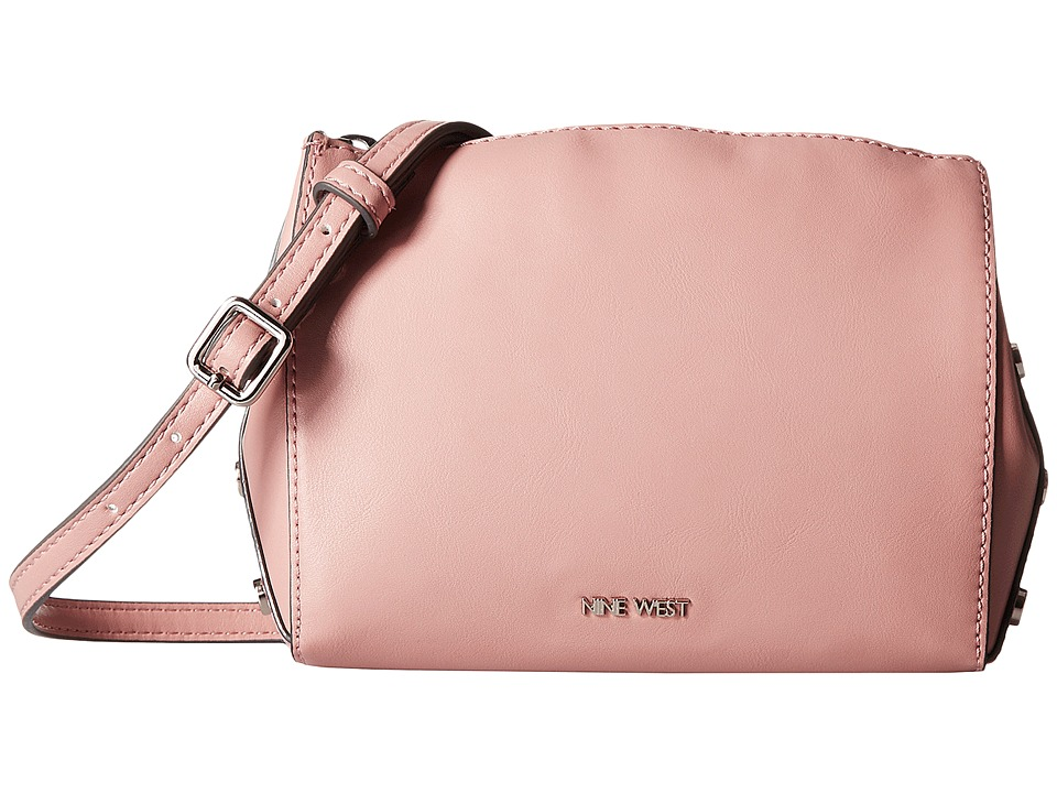 Nine West - Sheer Genius Crossbody (New Mauve/Hematite/New Mauve) Cross Body Handbags