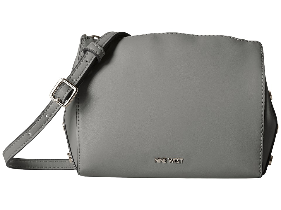 Nine West - Sheer Genius Crossbody (Heather Grey/Black/Heather Grey) Cross Body Handbags