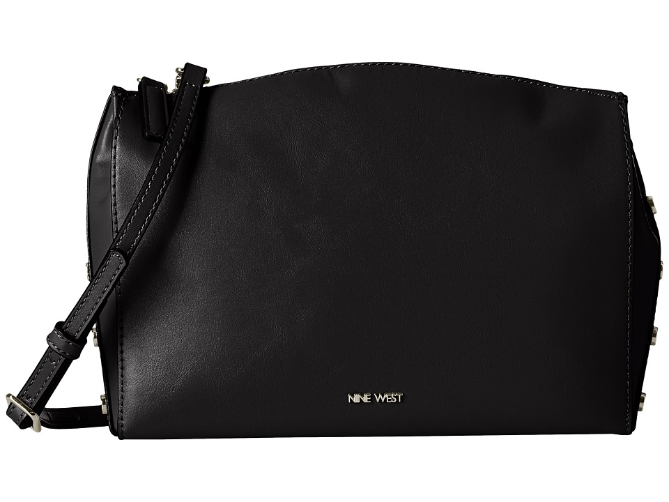 Nine West - Sheer Genius Crossbody (Black/Dynasty Red/Black) Cross Body Handbags