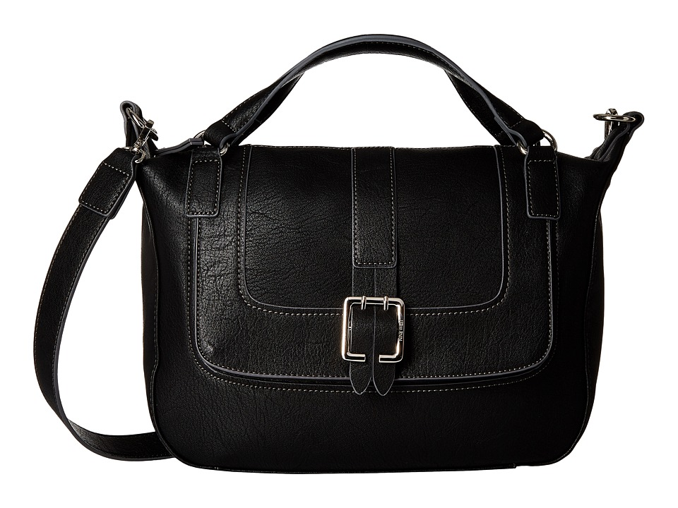 Nine West - The Lush Life Satchel (Black) Satchel Handbags