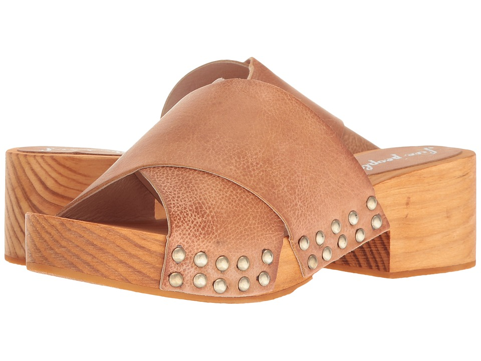 Free People Sonnet Clog (Natural) Women