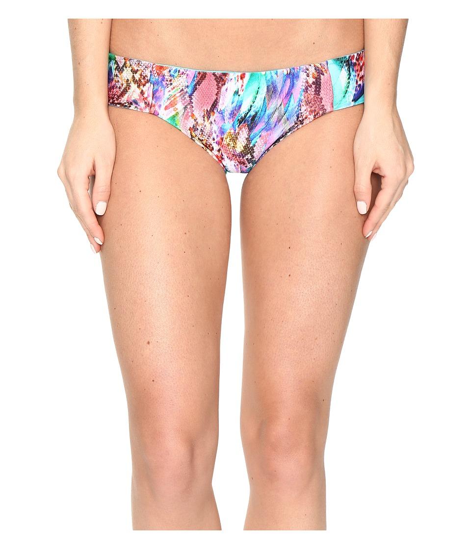 Luli Fama - Gorgeous Chaos Side Tab Reversible Full Bottoms (Multi) Women's Swimwear