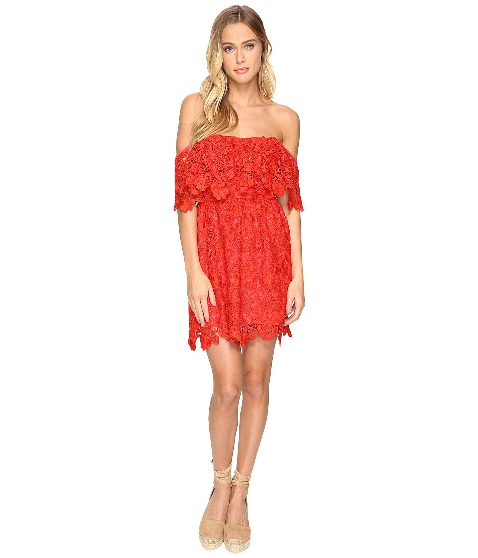 Lovers + Friends Dream Vacay Dress (Red) Women