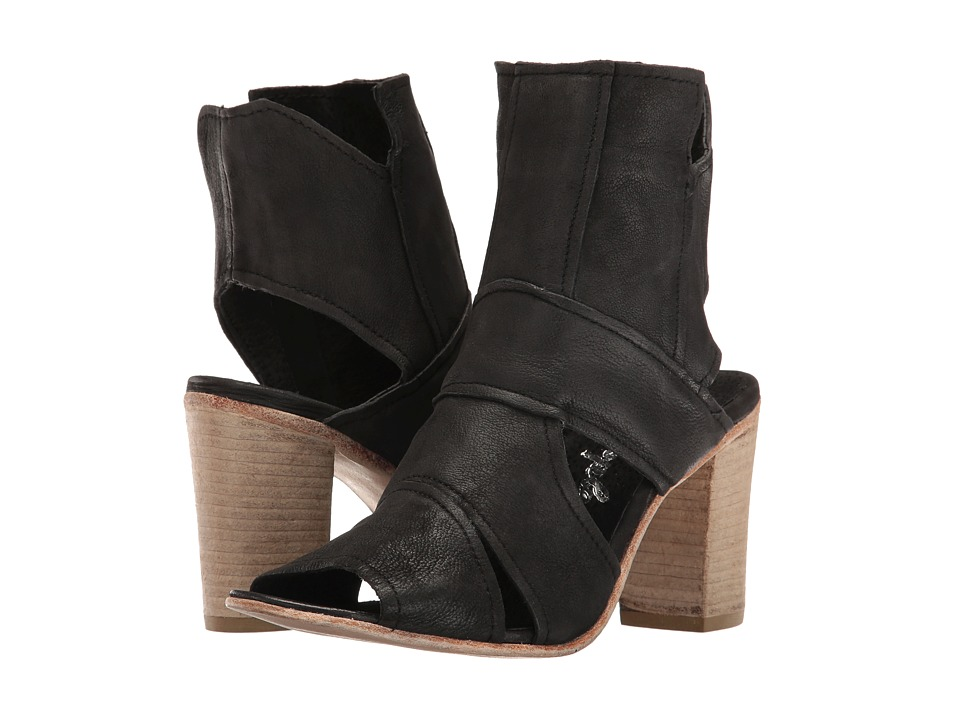 Free People - Effie Block Heel (Black) Women's Shoes