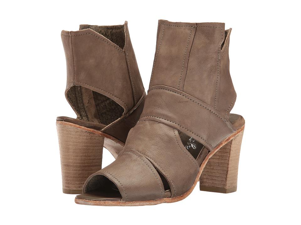 Free People - Effie Block Heel (Grey) Women's Shoes