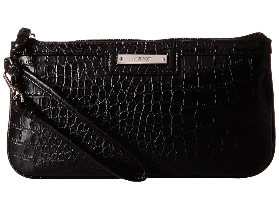 Nine West - Table Treasures Wristlet (Black) Wristlet Handbags