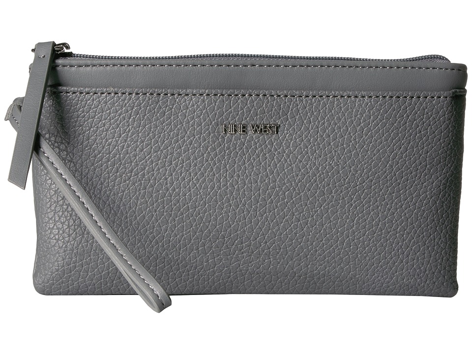Nine West - Table Treasures Wristlet (Heather Grey/Heather Grey) Wristlet Handbags