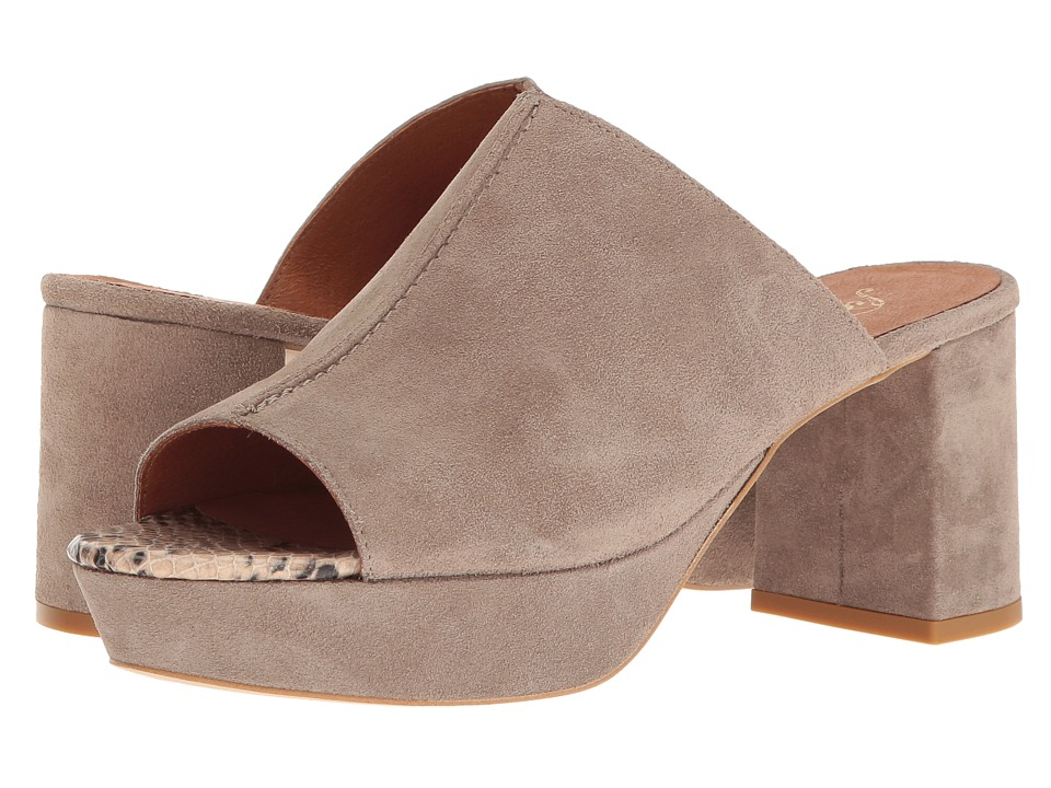 Free People - Moody Mule (Grey) Women's Clog/Mule Shoes