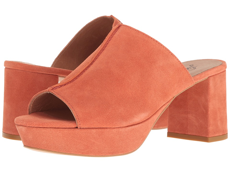 Free People - Moody Mule (Coral) Women's Clog/Mule Shoes