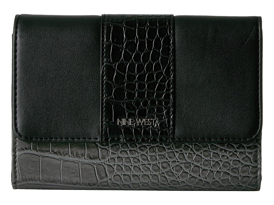 Nine West - Table Treasures Aleksei Crossbody (Heather Grey/Black/Black) Cross Body Handbags