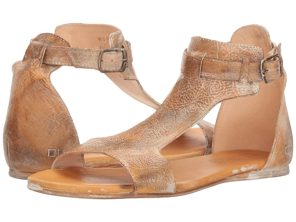 Bed Stu - Sable (Tan Rustic White BFS) Women's Shoes