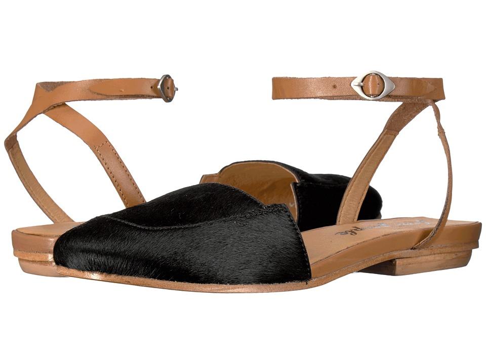 Free People - Korine Flat (Black) Women's Flat Shoes