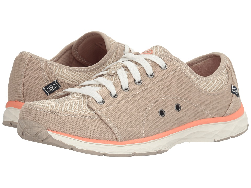 Dr. Scholl's - Anna (Taupe/Chevron Canvas) Women's Lace up casual Shoes