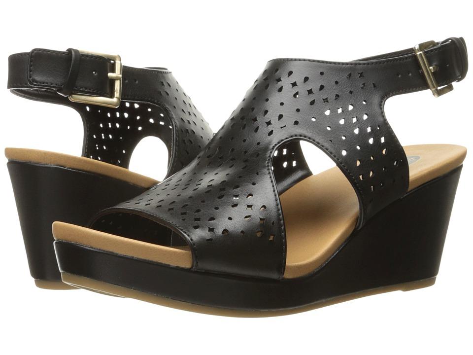 Dr. Scholl's - Barely (Black Chopout) Women's Shoes