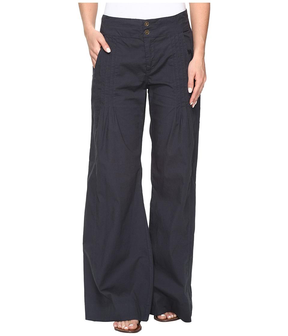 XCVI - Rebecca Pants in Stretch Poplin (Charcoal) Women's Casual Pants