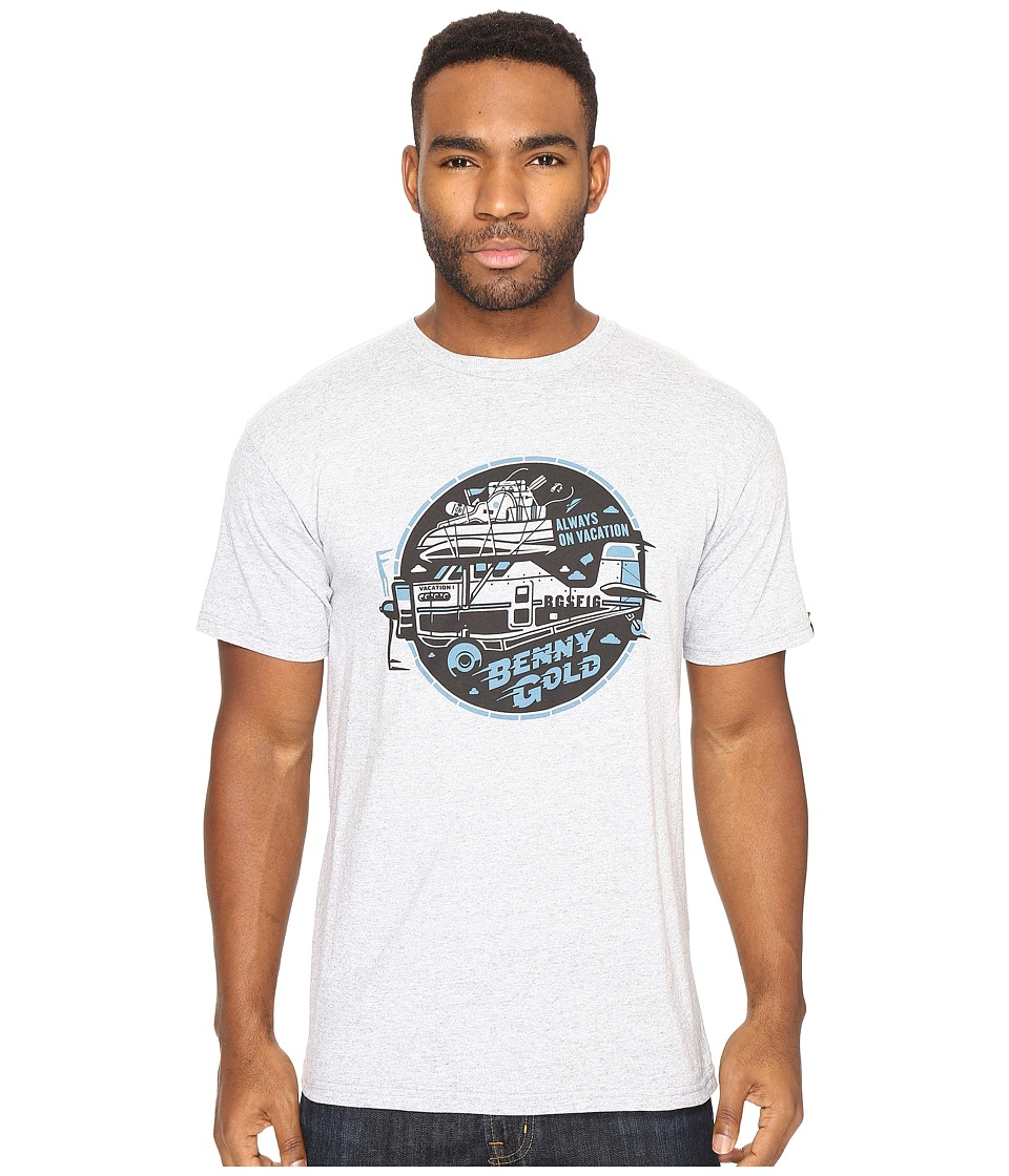 Benny Gold - Air Adventure T-Shirt (Grey) Men's T Shirt
