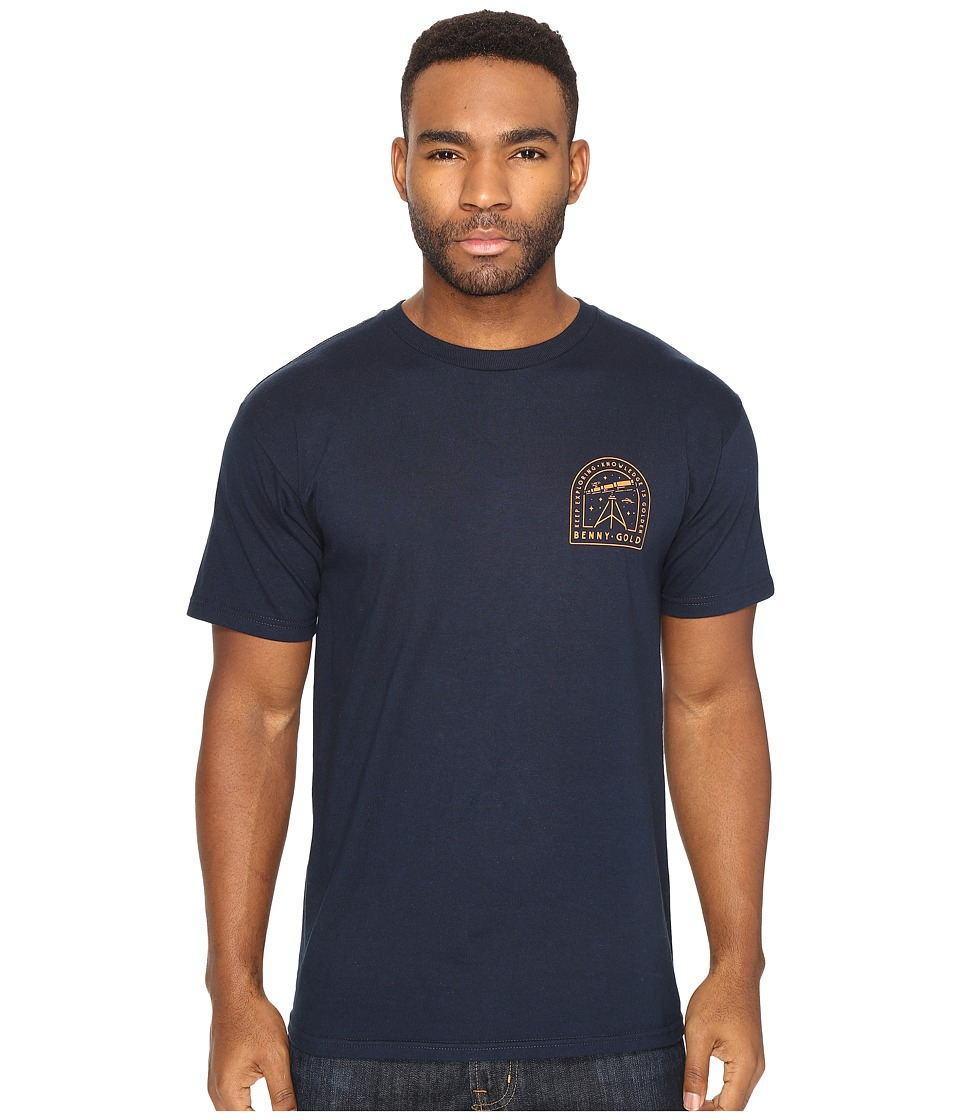 Benny Gold - Astronomy T-Shirt (Navy) Men's T Shirt