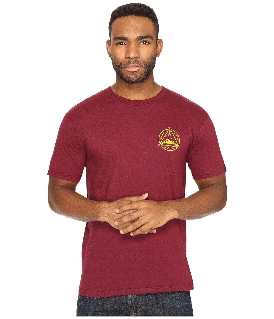Benny Gold - Balance T-Shirt (Burgundy) Men's T Shirt
