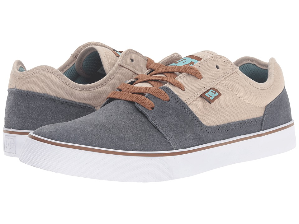 DC - Tonik (Taupe/Stone) Men's Skate Shoes