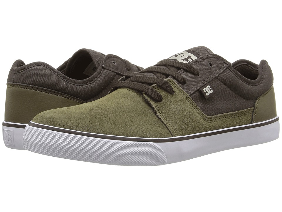 DC - Tonik (Military/Dark Chocolate) Men's Skate Shoes
